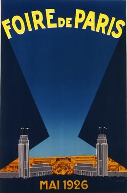 FOIRE DE PARIS – MAI 1926, Pierre Commarmond