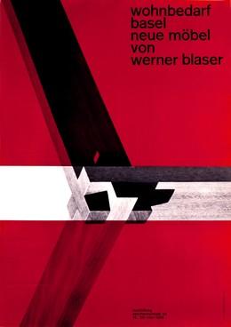 Wohnbedarf Basel – Neue Möbel von Werner Blaser, Celestino Piatti