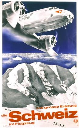 Schweiz – Das grosse Erlebnis – DC-2, Herbert Matter