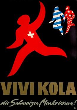 VIVI-KOLA Die Schweizer Marke voran, Alex Walter Diggelmann