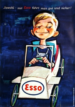 ESSO – Jawohl – mit Esso fährt man gut und sicher, Walter Greminger