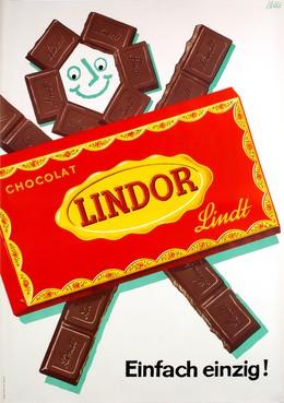 Lindor – Chocolat – Lindt – Einfach einzig!, Emil Ebner