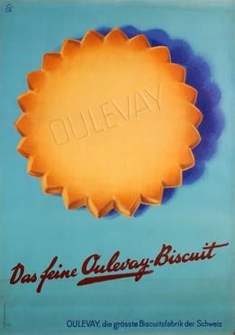 Oulevay – Das feine Oulevay Biscuit, Emil Ebner