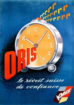 """ORIS """"Le réveil suisse de confiance*, Althaus, Atelier / Brüderlin"""