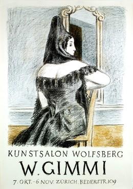 """Kunstsalon Wolfsberg """"W. Gimmi """", Artist unknown"""