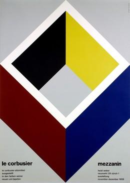 Le Corbusier – Sitzmöbel – meubles art mezzanin – Heidi Weber Neumarkt 28 Zürich 1 Ausstellung 1959, Alfred Hablützel