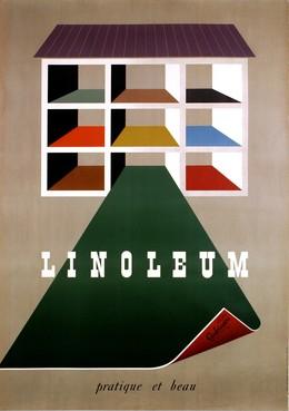 Linoleum – pratique et beau, Hans Hartmann