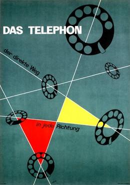 """Das Telephon – """"Der direkte Weg in jede Richtung"""", Hugo Schol"""