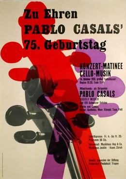 In honor of Pablo Casal's 75th birthday, Beni Olonetzki
