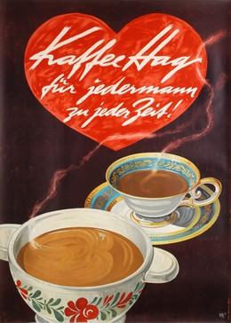 Kaffee Hag – für jedermann zu jeder Zeit, Alex Walter Diggelmann