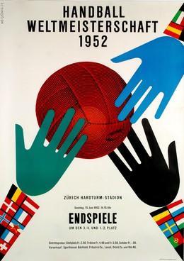 Handball-Weltmeisterschaft Hardturm-Stadion Zürich 1952, Werner Weiskönig