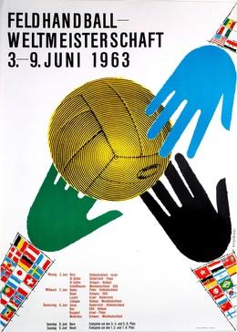 Feldhandball-Weltmeisterschaft 3.-9. Juni 1963, Werner Weiskönig