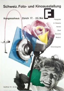 Schweiz. Foto- und Kinoausstellung – Kongresshaus Zürich, G. - Photo: Wolgensinger Honegger-Lavater