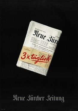 Neue Zürcher Zeitung – 3 x täglich, Edi Hauri