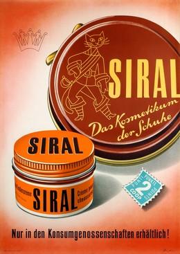 SIRAL – Das Kosmetikum der Schuhe, Alfred Rudin