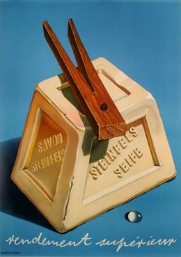 Steinfels Soap – strong performance, Herbert Leupin