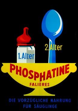 PHOSPHATINE FALIÈRES – die vorzügliche Nahrung für Säuglinge, Artist unknown