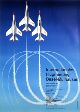 Internationales Flugmeeting Basel-Mülhausen 1958, Edi Hauri
