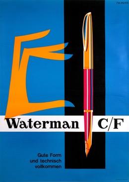 Waterman C/F – Gute Form und technisch vollkommen, Theo Muyr