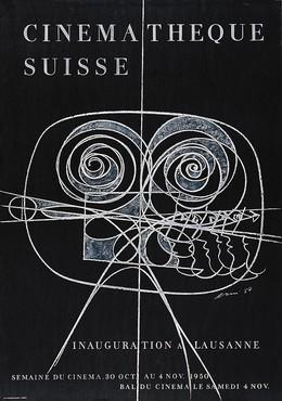 CINEMATHEQUE SUISSE – Inauguration à Lausanne – 1950, Hans Erni