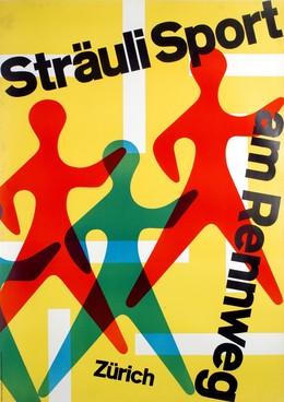 Sträuli Sport – am Rennweg Zürich, Leo Gantenbein