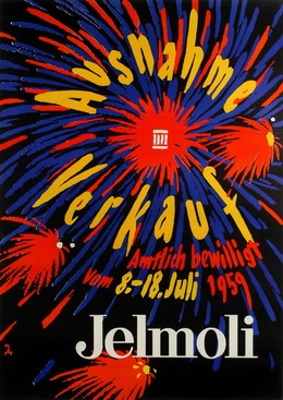 Jelmoli – Ausverkauf 1959, Artist unknown