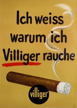 Ich weiss warum ich Villiger rauche, Hans Lehni