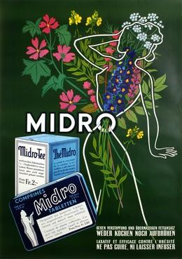 Thé Midro – Laxatif, Artist unknown