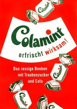 Colamint erfrischt wirksam – Das rassige Bonbon mit Traubenzucker und Cola, Fred Stolle