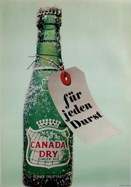 Canada dry. Für jeden Durst., Artist unknown
