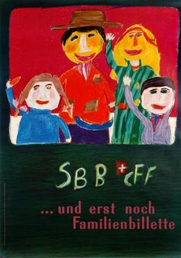 SBB – CFF.. und erst noch Familienbillette, Agnes Hitz