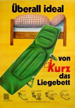 Kurz Liegebett, Artist unknown