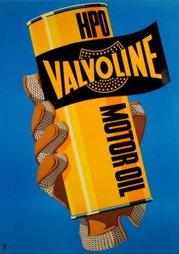 Valvoline Motor Oil, Artist unknown