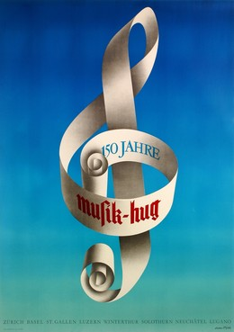Musik Hug – 150 Jahre, Oskar Pfister
