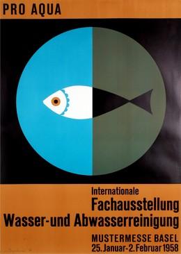 PRO AQUA – Internationale Fachausstellung Wasser- und Abwasserreinigung – Mustermesse Basel 1958, Max Petitjean