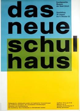 Kunstgewerbemuseum der Stadt Zurich: Das neue Schulhaus, Carlo Vivarelli