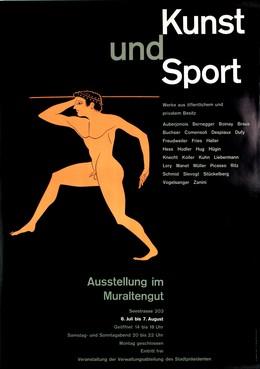 Kunst und Sport – Ausstellung im Muraltengut Zürich, Emil Maurer