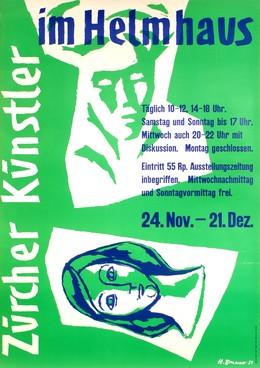 Zürcher Künstler im Helmhaus, H. Brunner