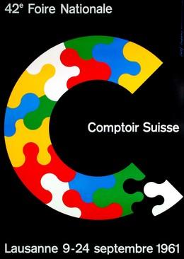 42e Foire Nationale – Comptoir Suisse – Lausanne – 9-24 septembre 1961, Rolf Rappaz