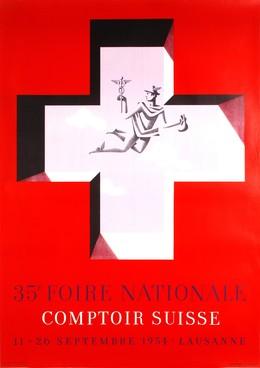 35e Foire National Comptoir Suisse 11 – 26 Septembre 1954 Lausanne, André Closset