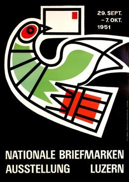 Briefmarken Ausstellung, Willi Baum