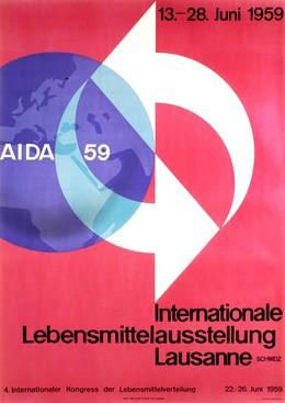 AIDA 59 – Internationale Lebensmittelausstellung Lausanne 1959, Hans Thöni