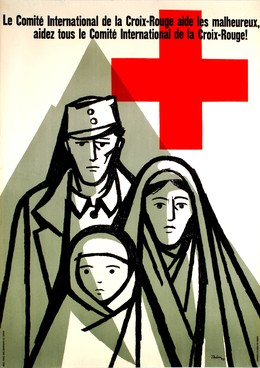 La Comité International de la Croix Rouge aide les malheureux, Hans Thöni