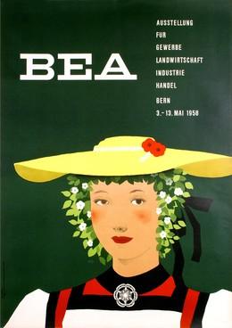 BEA – Ausstellung für Gewerbe, Landwirtschaft, Industrie, Handel Bern 1958, Karl Toggweiler