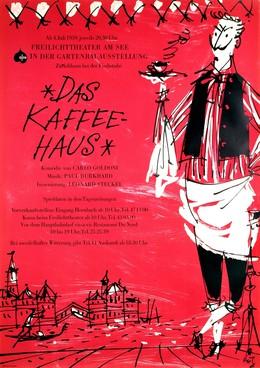 Das Kaffeehaus – Freilichttheater am See – Zürichhorn, Fritz Butz