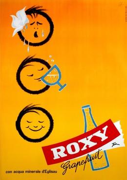 Roxy – Grapefruit – con agua minerale d'Eglisau, Emil Ebner