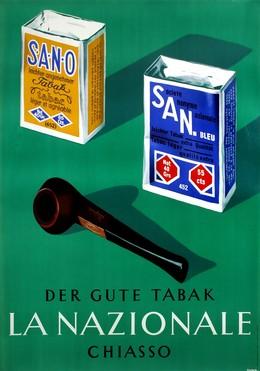 LA NAZIONALE – Der gute Tabak – Chiasso, Stuber (Atelier Briel)