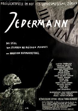 Jedermann – Landesmuseum Zürich, Ernst Morgenthaler