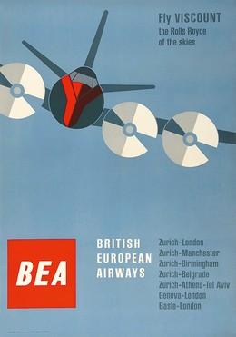 Fly BEA – British European Airways, Josef Müller-Brockmann