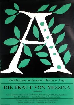 Die Braut von Messina – Maria Becker – Theater zu Augst von Friedrich Schiller, Herbert Leupin